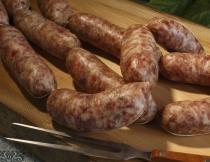 Sausages (Lugàneghe)